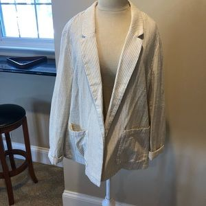 Lightweight Old Navy Pinstripe Blazer